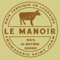 Le Manoir Manor Fromagerie Cheese Label 18x18 Stencil