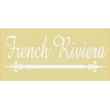 French Riviera 5.5x11.5 Stencil
