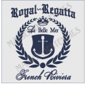 Royal Regatta French Riviera 12x12 Stencil