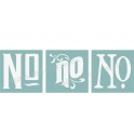 No. Trio Victorian - 3 Small Stencils
