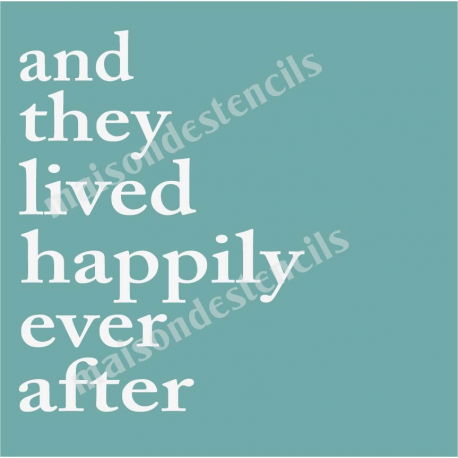 and they live happily ever after