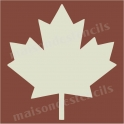 Maple Leaf Graphic 12x12 Stencil