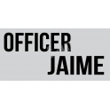 Officer Custom Name 5.5x11.5 Stencil