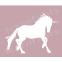 Unicorn Graphic 10x12 Stencil