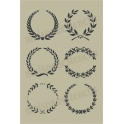 Laurel Wreath Collection No.2 12x18 Stencil