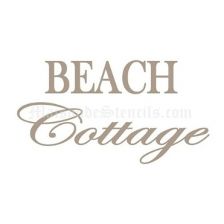 Beach Cottage 2 Stencil