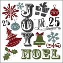 Christmas Graphics 2014 12x12 Stencil