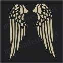 Angel Wings No.1 12x12 Stencil