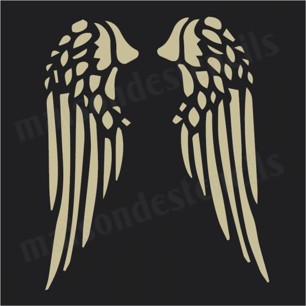Pics Photos - Free Angel Wing Stencils Cachedoct Free Angel Wing ...