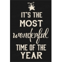 Most Wonderful Time of the Year 12x18 Stencil