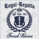 Royal Regatta French Riviera 18x18 Stencil