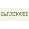 Farmhouse No.2 8x18 Stencil