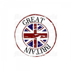 Great Britain 12x12 Stencil