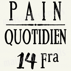 Pain Quotidien - Bread Daily 12x12