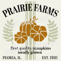 Prairie Farms Autumn 12x12 Stencil