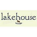 lakehouse with moose and laurel 8x18 stencil