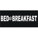 BED & BREAKFAST 8x18 stencil