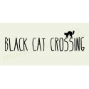 Black Cat Crossing 5.5X11.5 stencil