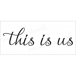 this is us 8x18 stencil