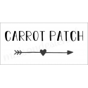 Carrot Patch 5.5X11.5 stencil