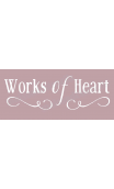 Works of Heart 8x18 stencil