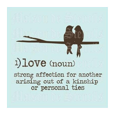 love definition of love
