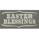 Easter Blessings 5.5x11.5 Stencil