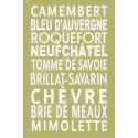 French Cheese Subway 12x18 Stencil