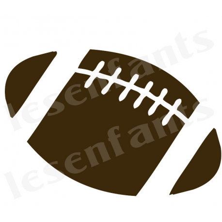 Football Graphic 10x12 Stencil