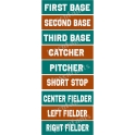 Baseball Positions Shelf Sitters Stencil Set
