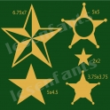Star Graphics 12x12 Stencil