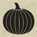 Pumpkin 2 small 5 x 5 stencil