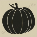 Pumpkin No.4 small 5 x 5 stencil
