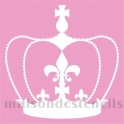 Crown MB 8x8 Stencil