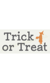 Trick or Treat with child 5.5X11.5 stencil