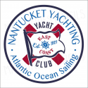 Nantucket Yacht Club 12x12 stencil