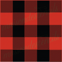 Buffalo plaid check overlay 12x12 stencil