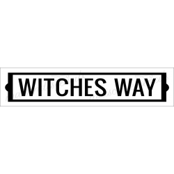 WITCHES WAY 4x18 stencil