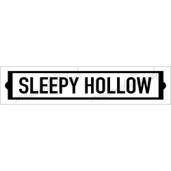 SLEEPY HOLLOW 4x18 stencil