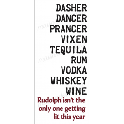 REINDEER NAMES & ALCOHOLS 2019 8x18 stencil