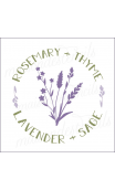 Rosemary + Sage Lavender + Thyme 12x12 stencil