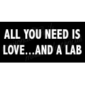 All you need is love... and a Lab 5.5x11.5 stencil