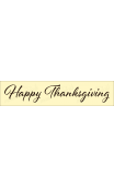 Happy Thanksgiving script 2020 4x18 Stencil