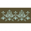 Damask O 12x18 Double Stencil