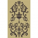 Damask Ornate Wallpaper 12x18 Stencil