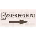 Easter Egg Hunt 5.5x11.5 Stencil