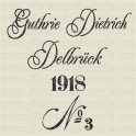 German Feedsack Replica 12x12 Stencil