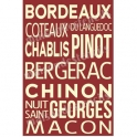 French Wine Region 12x18 Stencil